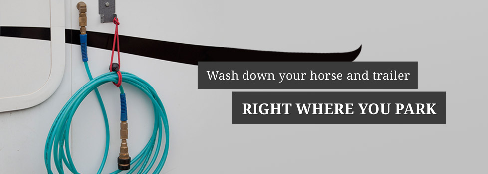 HydraHorse - wash your horse and your trailer